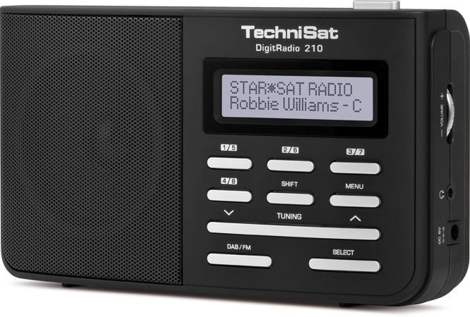 Technisat  DigitRadio 210 zwart
