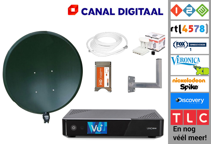 Canal Digitaal  Opname thuis set