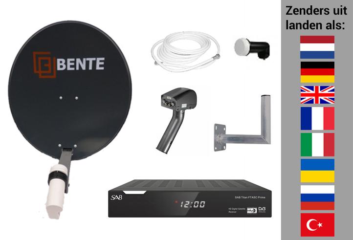 Arob Antennebouw  Extra uitgebreide set voor zenders uit veel landen