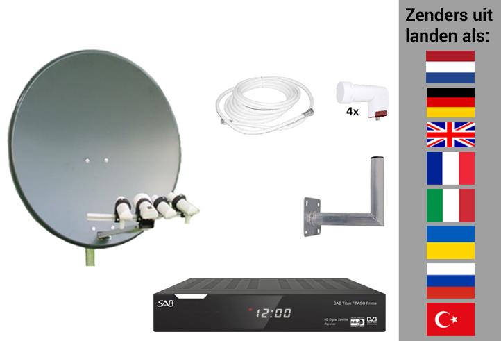 Arob Antennebouw  Uitgebreide set voor zenders uit veel landen