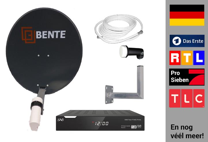 Arob Antennebouw  Duitse zenders set